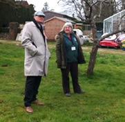 David with Carol at Headley Court