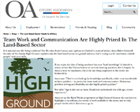 'HighGround's Rural Weeks programme reveals exciting opportunites in the Land-Based sector'