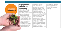 'HighGround' – Roots to Recovery